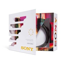 Sony Packaging by Jille Natalino, via Behance