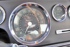 1962 Ferrari 250 GTE 2+2 Series II Serial Number 3177-Speedometer and odometer