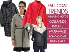 Style Guide: Fall's Hottest Coat Trends