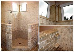 Small Open Shower Bathroom Design:Bathroom With Open Shower