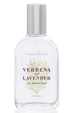 Crabtree & Evelyn 'Verbena & Lavender de Provence' Eau de Toilette (Nordstrom Exclusive) available at #Nordstrom