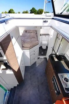 Steyr all-wheel drive - *ॐ Wohnmobil ausbauen - Selbstausbau - Steyr all-wheel drive You are in the right place about van life Here we offer you the most be - Steyr, Bus Camper, Camper Life, Sprinter Camper, Interior Trailer, Camper Interior, Interior Design, Boat Interior, Interior Walls
