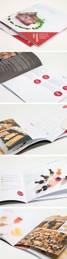 Brochure Design - National Museum Cardiff by Octopus Creative Design, via Behance