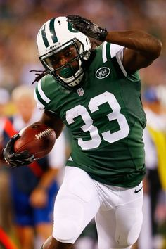 Chris Ivory, running back of the New York Jets, has started the NFL season off great with his freight train like style of play!