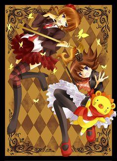 Tags: Anime, Umineko no Naku Koro ni, Ushiromiya Maria, Beatrice, 07th Expansion
