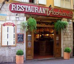 Restaurant Acchiardo vieux-nice old city Nice France