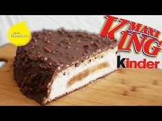 Гигантский Киндер макси кинг. Mega-maxi Kinder maxi king. - YouTube