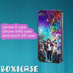 One Direction,Nebula---iphone 4 case,iphone 5 case,ipod touch 4 case,ipod touch 5 case,in plastic,silicone and black,white. by Boxicase, $14.95