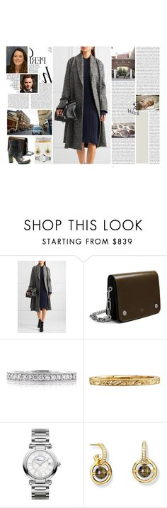 """Untitled #2926"" by duchessq ❤ liked on Polyvore featuring Whiteley, Oris, T By Alexander Wang, Royal Baby, Mulberry, Mark Broumand, Chopard and Rocco P."