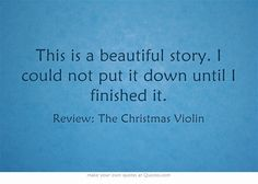 70 best the christmas violin images on pinterest violin buffy and this is a beautiful story i could not put it down until i finished it fandeluxe Gallery