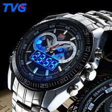 Like and Share if you want this  TVG Fashion Sport Men Watch luxury brand analog digital LED dual display stainless steel strap waterproof military quartz watch     Tag a friend who would love this!     FREE Shipping Worldwide     #Style #Fashion #Clothing    Buy one here---> http://www.alifashionmarket.com/products/tvg-fashion-sport-men-watch-luxury-brand-analog-digital-led-dual-display-stainless-steel-strap-waterproof-military-quartz-watch/
