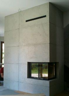 kominek nowoczesny n52 Stove Fireplace, Wall Lights, Loft, Stoves, Interior Design, Fireplaces, Home Decor, Log Burner, Fire Places