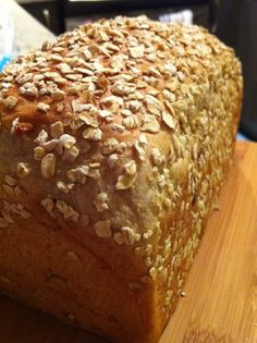 A REALLY great healthy bread recipe that is easy to make - a KEEPER!