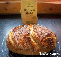 Alakor-kovászos fehér kenyér | Betty hobbi konyhája Ale, Bread, Cookies, Food, Crack Crackers, Ale Beer, Brot, Biscuits, Essen