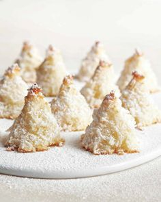 Sugar-Dusted Macaroon Trees