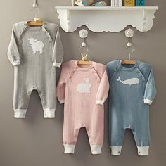 Cute johns but love the decor idea... blue whale cashmere blend baby long johns