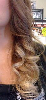 Lovely Dalliances: DIY Dark Blonde Ombre Hair