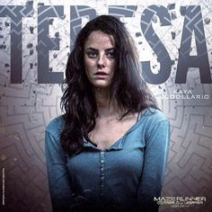 Teresa in The Maze Runner----> why does no one talk about the fact that she died it's all about newt?!?