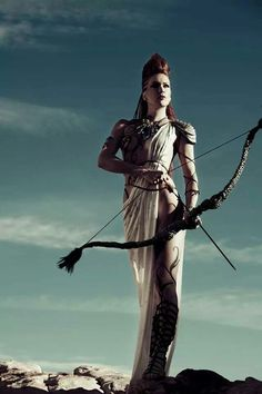 Athena warrior princess. Wisdom. Reason. Purity.