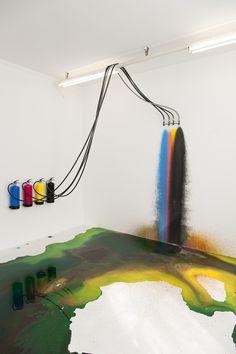 """pop-up-x: """"Rutger de Vries - CMYK Extinguisher, 2016 """" Conceptual Art, Surreal Art, Art Environnemental, Modern Art, Contemporary Art, Art Public, Street Art, Instalation Art, Interactive Installation"""