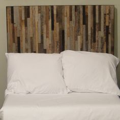 Reclaimed Barnwood Headboard