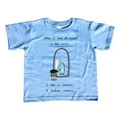 I'm a Unicorn Kids Tshirt   Cute Funny Unicorn TShirt by bikeparts