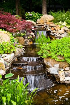 Outdoor Water Feature Photo Gallery | Garden Fountains, Ponds, Waterfalls
