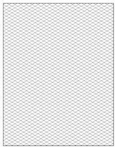 Free Isometric Graph Paper