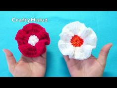 Flower Patterns, Crochet Patterns, Diy Hair Accessories, Baby Headbands, Diy Hairstyles, Crochet Flowers, Diy And Crafts, Knitting, Floral