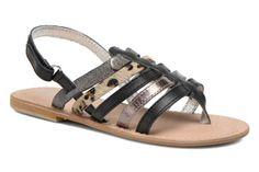 Initiale Paris Macaron K Sandals 3/4 view