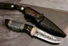 Work from 2004 | André Andersson Custom Knives - null