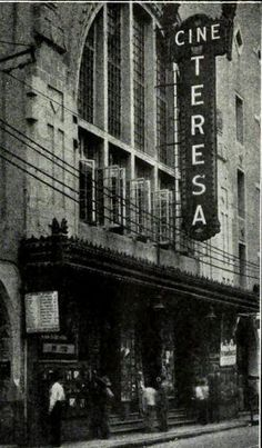 Cine Teresa Mexico City 1926
