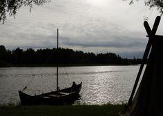 Hämeen keskiaikamarkkinat - Häme Medieval Faire 2013, Viikinkivene - Viking Boat, © Heikki Haavisto
