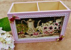 Elegant box for pens or small utensils made of by Schmucktruhe, €24.00