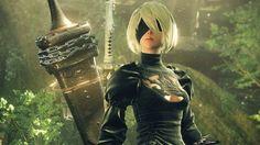 """Das Action-RPG """"Nier – Automata"""" bietet futuristische Klingen und explosive Waffen. Ob dieser Mix Spaß macht, lesen Sie in der Vorschau."""