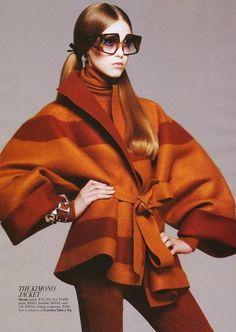 Hermes kimono jacket, vintage sunnies