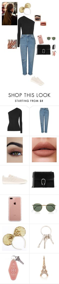 """Disneyland date"" by rubycrocha ❤ liked on Polyvore featuring Michael Kors, Miss Selfridge, adidas Originals, Gucci, Belkin, Ray-Ban, Givenchy and Bling Jewelry"