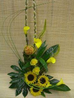 summer flower arrangement.
