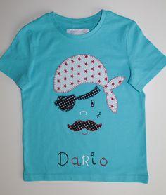 cocodrilova: camiseta pirata para dario