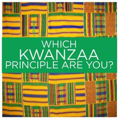 Which Kwanzaa Principle Are You? – soc kwanza - To Have a Nice Day Kwanzaa 2017, Happy Kwanzaa, Holidays And Events, Happy Holidays, Kwanzaa Principles, Holidays Around The World, Lets Celebrate, Family Traditions, Little Christmas