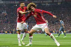 MATCH FACTS    Manchester United (4-3-3) : Romero 6.5; Valencia 6, Bailly 6.5, Blind 5.5, Darmian 6; Herrera 6, Pogba 6; Lingard ...