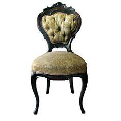 Victorian Mahogany Parlour Chair