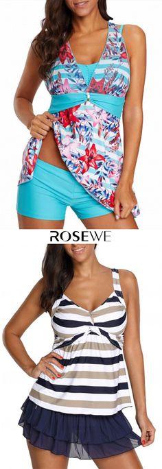 Padded H Back Flower Print Swimdress and Shorts. Swim Dress, Swimsuits, Bikinis, Fashion Show, Fashion Trends, All About Fashion, Sexy Bikini, Fit Bodies, Swim Wear