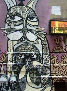 Melbourne Australia -Graffiti - photo by naomiserene2