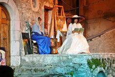 La Notte delle Streghe, Castel del Monte, Abruzzo Castel Del Monte, Trip Advisor, Italy, Painting, Italia, Painting Art, Paintings, Painted Canvas, Drawings