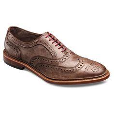 Neumok - Unlined Wingtip Lace-up Oxford Men's Casual Shoes by Allen Edmonds - Size 10D