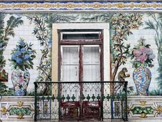 Portugal's history of intricate tilework—from its ceilings to floors, homes and hallways—means you can't walk down a street in Lisbon without spotting something beautiful.