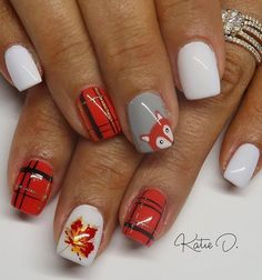 Thanksgiving Day is one of the most popular festivals in the year. We have to celebrate the harvest and thank our family and friends. Of course, we can not forget the nail art design. Beautiful nail art designs with Thanksgiving atmosphere are the mo Popular Nail Designs, Popular Nail Art, Fall Nail Art Designs, Toe Nail Designs, Fall Toe Nails, Fall Acrylic Nails, Acrylic Nail Art, Gel Nails, Autumn Nails