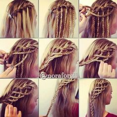 Surprising 1000 Images About Nice Braids On Pinterest Cute Hairstyles Hairstyles For Women Draintrainus