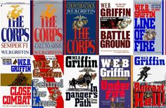 The Corps Series by W.E.B. Griffin. By far his best work. Semper Fi! :)